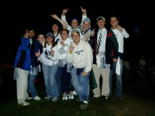 The crew:  Penn State vs Ohio State Oct 8, 2005 17-10 W